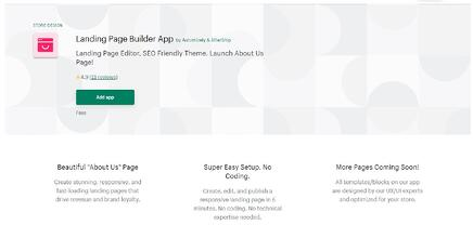 Enzuzo 2021 Apps - Landing Page Builder