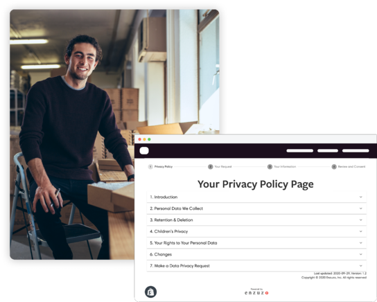 privacy policy page generator